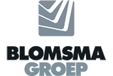 Logo van Blomsma Groep met link naar thuispagina
