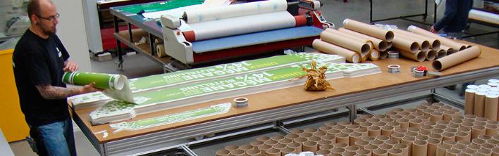 Promotiebestickering voertuigen Blomsma Print & Sign