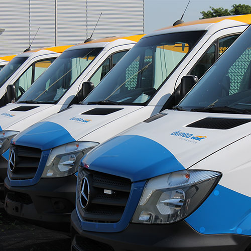 wagenpark fleetmarking blomsma