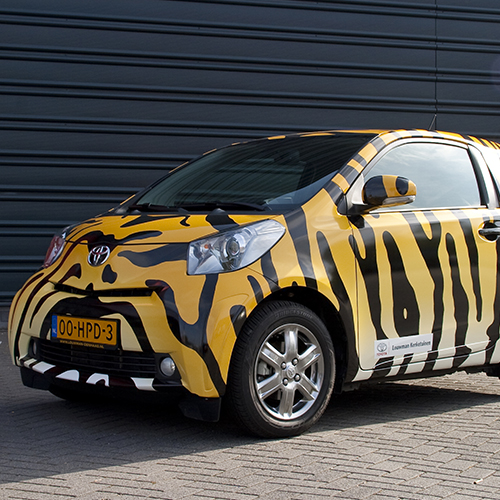 Carwrapping bestickering Blomsma Print & Sign