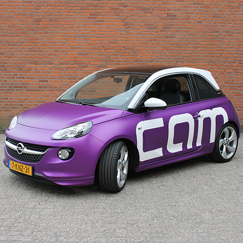 Full Wrap Opel Adam CAM-IT