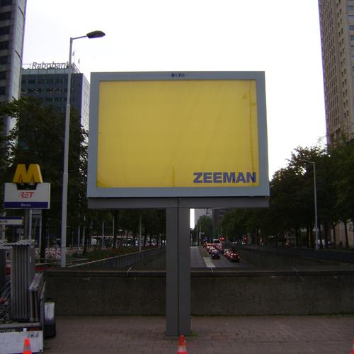 Billboard voor montage