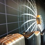 Backdrop Etalagedecoratie Samsonite