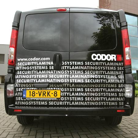 Busbestickering Codor