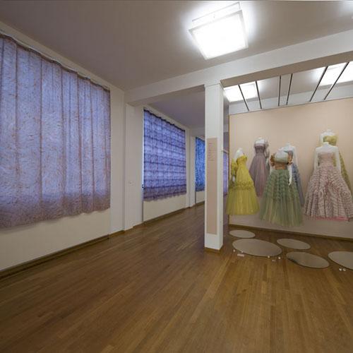 Aankleding expositie