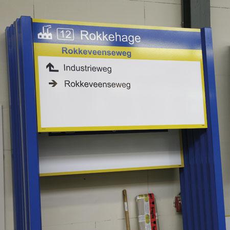 Bewegwijzering VNBT Zoetermeer