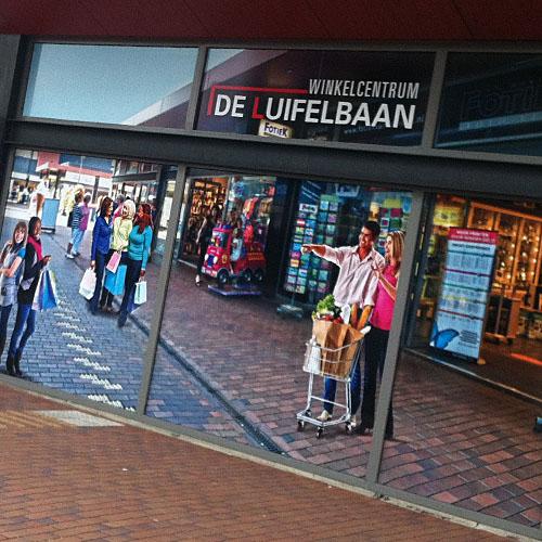 Sfeervisuals Winkelcentrum de Luifelbaan
