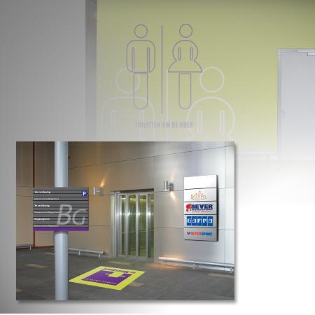 Visualisatie en aankleding winkelcentrum