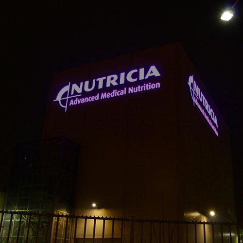 Resultaat Lichtreclame Nutricia