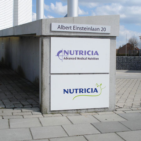 Interieurdecoraties Nutricia