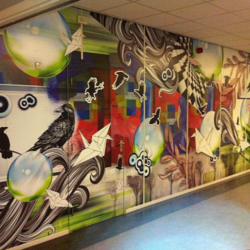 Sfeerdecoraties Pax Christie College