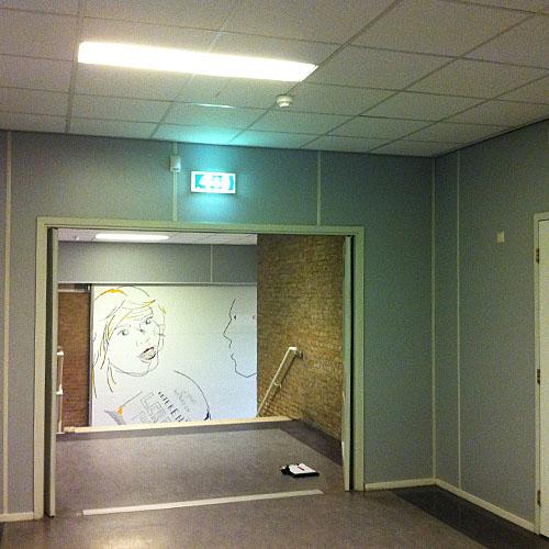 Interieur voor decoratie