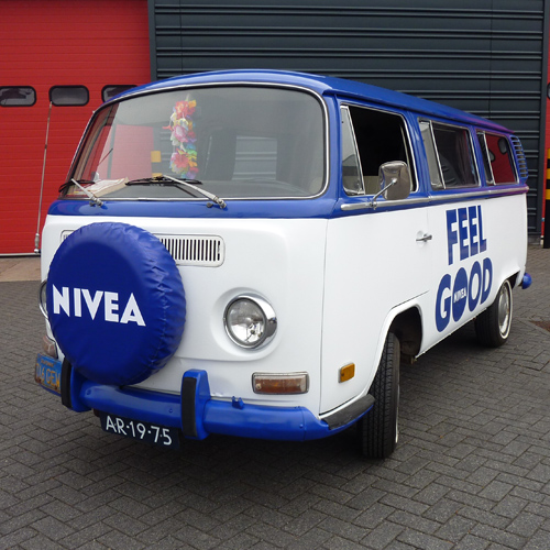 Full Wrap VW T2 Nivea