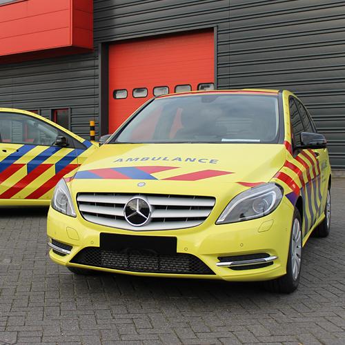 Full Wrap Ambulances ROGAM contourmarkering