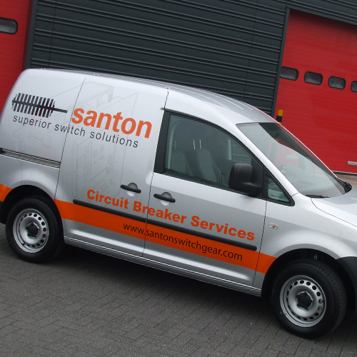 Bestickering Caddy's Santon