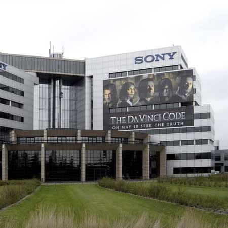 Gevelreclame Sony