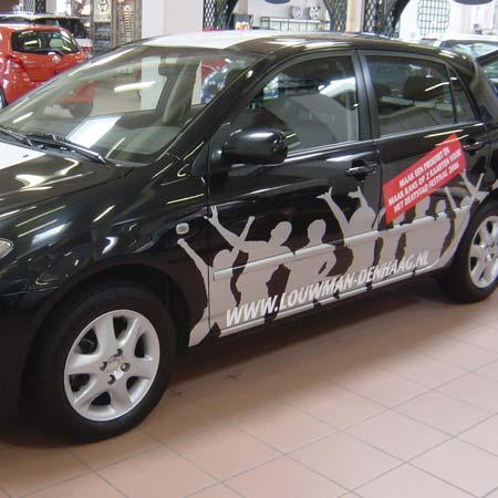 Autobelettering Toyota