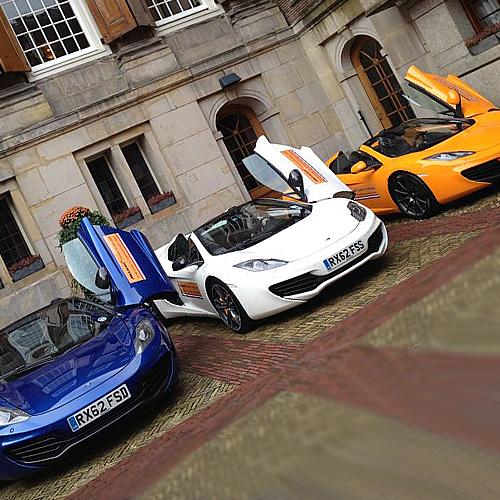 Promo-event McLaren Tour