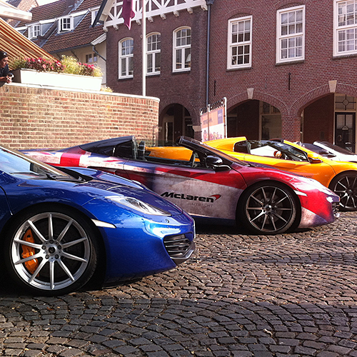 Promo-events McLaren Tour