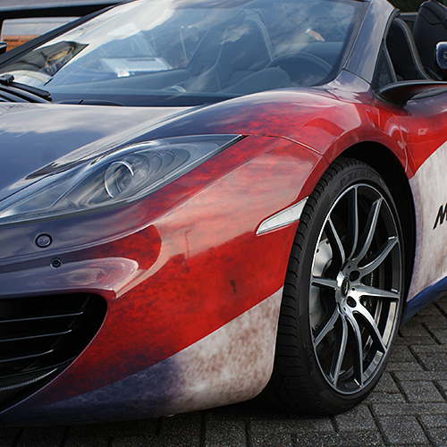 Full wrap McLaren MP4-12C