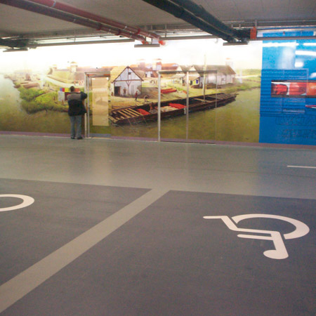 Drive-In Parkeergarage museum