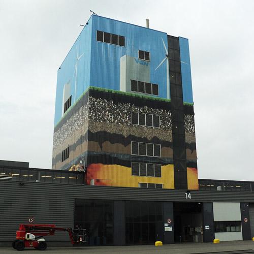 Buildingwrap Koeltoren Wuppermann
