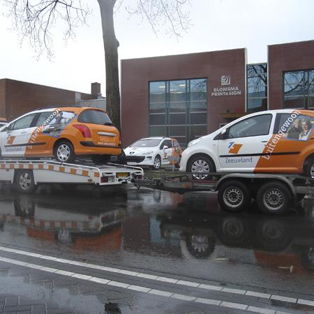 Transport auto's