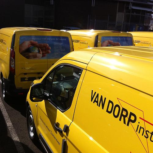 Wagenpark van Dorp Installaties