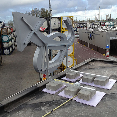 Lichtreclame TankCleaning Europoort