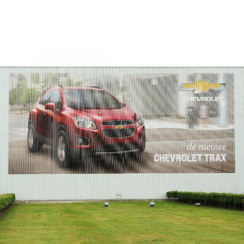 Gevelreclame Chevrolet Trax