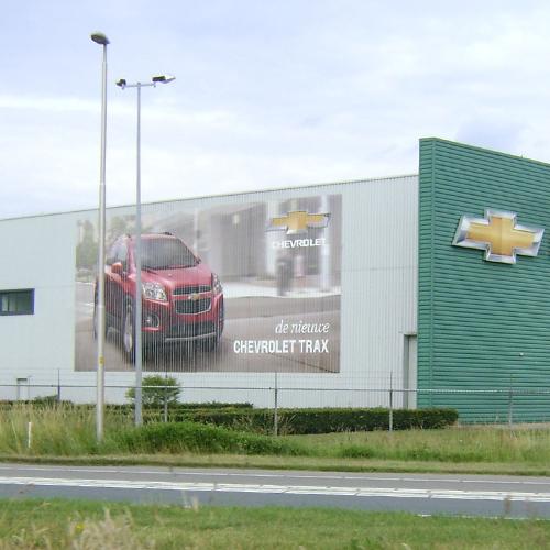Buildingwrap Chevrolet Trax