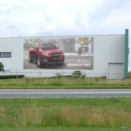 Gevelsticker Chevrolet Trax