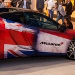 McLaren Blomsma Eventdressing carwrapping