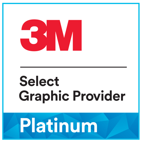 3M Select PLATINUM graphic provider Blomsma Groep