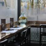 raamdecoraties restaurant