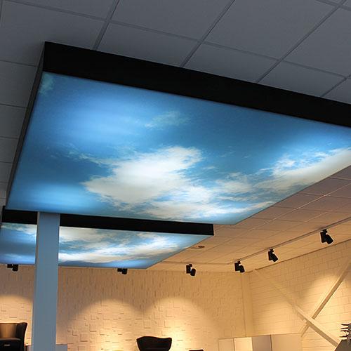 decoratiedoek plafond
