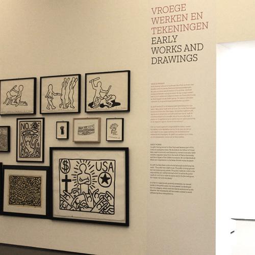 belettering expositie kunsthal