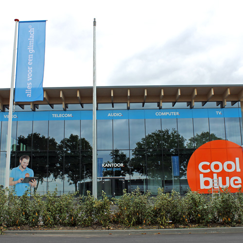 gevelreclame coolblue