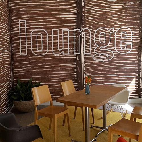 wandsigning loungeibis Amsterdam Stopera