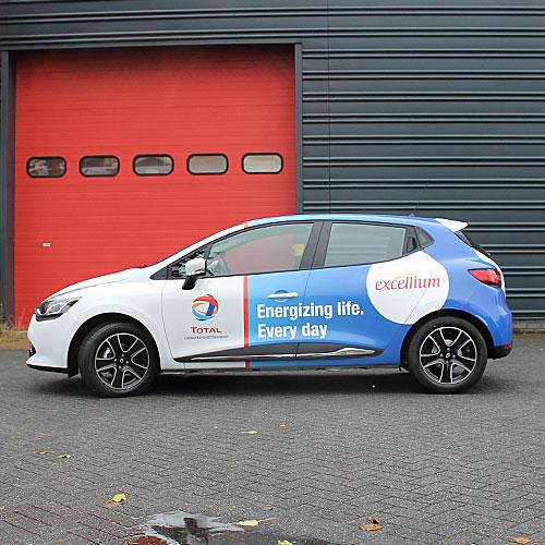 full wrap clio bestickering voor total nederland