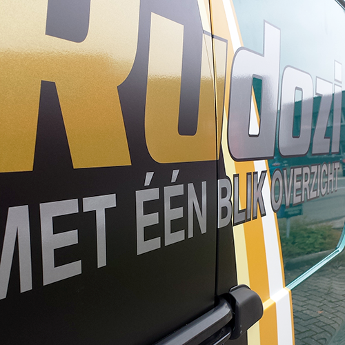 Voertuigbestickering RuDoZi