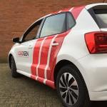LoadGen Volkswagen Polo autobestickering Blomsma