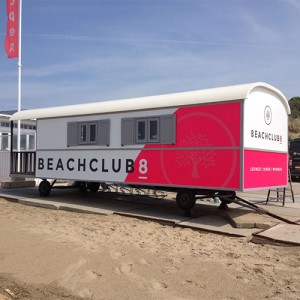 signing van pipowagen voor beachclub8