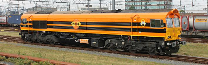rrf class66 locomotief bestickering