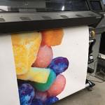 Bakwagen full color bestickering Blomsma Print & Sign