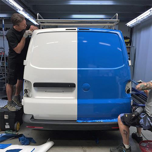 RubberMagazijn Volkswagen Transporter Autobestickering Blomsma Print en Sign