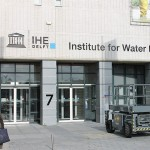 Institute for Water Education Blomsma Print en Sign Gevelletters