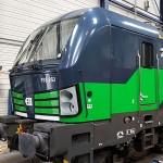 Vectron Siemens locomotief bestickerd zelfklevend vinyl door Blomsma Print & Sign voor LTE