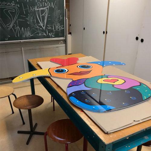 Sterrenschool Bikube Annabel Franz Bodner Blomsma Print & Sign