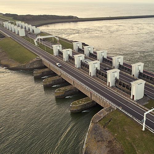Icoon Afsluitdijk Daan Roosegaarde Blomsma Print & Sign